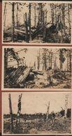 3 Photos Guerre 1914 1918 Mai 1917 Bois Des Marmites Souain Marne - 1914-18