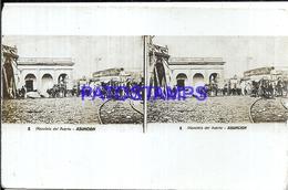 111967 PARAGUAY ASUNCION PLAZOLETA DEL PUERTO PORT STEREO VIEW POSTAL POSTCARD - Paraguay