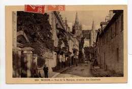 - CPA MENDE (48) - Rue De La Banque, Avenue Des Casernes 1938 - Edition Tesson 239 - - Mende
