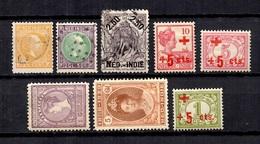 Indes Néerlandaises Belle Petite Collection De Bonnes Valeurs Neufs * Et Oblitérés. B/TB. A Saisir! - Netherlands Indies