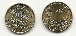 10 Cent, 2017, Prägestätte (D) Vz,  Sehr Gut Erhaltene Umlaufmünze - Germania