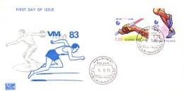 1983-06-06 : Leichtathletik - WM 1983 - FDC