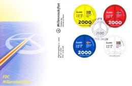 2000-01-03: Friedensinseln Aland - FDC