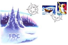 2002-11-01: Weihnachtsmarken - Finnland