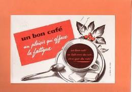 BUVARD. UN BON CAFE...  Achat Immédiat - Café & Thé
