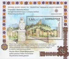 """Azerbajan (Azerbaijan, Azerbaïdjan) 2016. Museum """"Trapezitsa"""".  Mi.#Bl. 172A (1180A) MNH** - Azerbaïjan"""