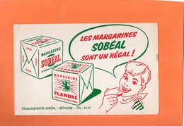 BUVARD. BETHUNE (P-de-C ) MARGARINE SOBEAL  Achat Immédiat - Food