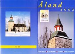 2002:  Aland - Map - Ganze Jahrgänge