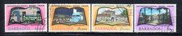 CI908 - BARBADOS 1972, Serie Yvert N. 353/356  Usata  (2380A) . - Barbados (1966-...)
