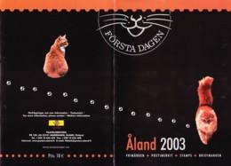 2003: Aland - Map - Finnland