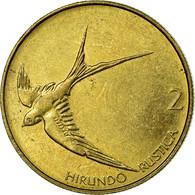 Monnaie, Slovénie, 2 Tolarja, 2001, TTB, Nickel-brass, KM:5 - Slovenia