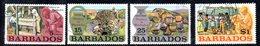 CI910 - BARBADOS 1972, Serie Yvert N. 357/360  Usata  (2380A) . - Barbados (1966-...)
