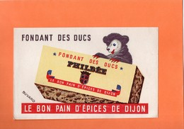 "BUVARD. DIJON (C-d'OR ) PAIN D'EPICES  ""PHILBEE ""   Achat Immédiat - Pan Di Zenzero"