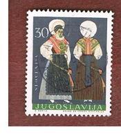 JUGOSLAVIA (YUGOSLAVIA)   - SG 1127   -    1964 YUGOSLAV COSTUMES: SLOVENIA   -   USED - 1945-1992 Repubblica Socialista Federale Di Jugoslavia