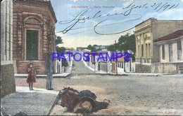 111979 PARAGUAY ASUNCION STREET CALLE HUMAITA POSTAL POSTCARD - Mexique