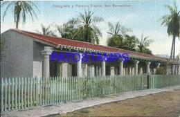 111981 PARAGUAY SAN BERNARDINO FOTOGRAFIA Y PENSION FRESEN POSTAL POSTCARD - Paraguay