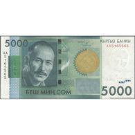 TWN - KYRGYZSTAN 30a - 5000 5.000 Som 2009 Prefix AA UNC - Kirguistán