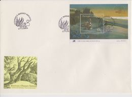 Portugal 1985 National Parks M/s FDC (F7798) - FDC