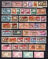 Syrie Française Belle Petite Collection De Poste Aérienne 1924/1945. Bonnes Valeurs. B/TB. A Saisir! - Syria (1919-1945)