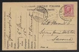 DA GORIZIA A SAVONA - 15.9.1916. - Interi Postali