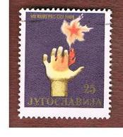 JUGOSLAVIA (YUGOSLAVIA)   - SG 1142   -    1964 YUGOSLAV COMMUNIST LEAGUE CONGRESS -   USED - 1945-1992 Repubblica Socialista Federale Di Jugoslavia