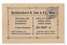 22060 - Bern Abonnement Auf Den Bund Nachnahme 1914 Pour Biel - BE Berne
