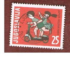 JUGOSLAVIA (YUGOSLAVIA)   - SG 1134  -    1964 CHILDREN' S WEEK -   USED - 1945-1992 Repubblica Socialista Federale Di Jugoslavia