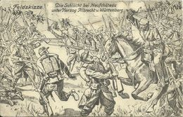 AK 1. Weltkrieg Schlacht Bei Neufchateau Feldskizze 1914 FP #137 - Neufchateau