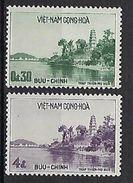 "Viet-Sud YT 110 & 111 "" Pagode "" 1959 Neuf** MNH - Viêt-Nam"