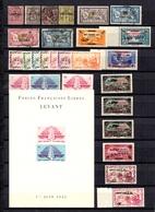 Levant Français Belle Collection Neufs **/*/oblitérés 1885/1942. Bonnes Valeurs. B/TB. A Saisir! - Levant (1885-1946)