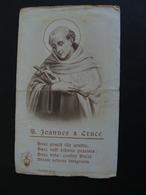 SANTO S. JOANNES A CRUCE   SANTO SANCTUS SAINT IMAGE PIEUSES ANDACHTSBILD ANCIEN - Santini