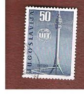 JUGOSLAVIA (YUGOSLAVIA)   - SG 1155  -    1965 UIT CENTENARY -   USED - 1945-1992 Repubblica Socialista Federale Di Jugoslavia