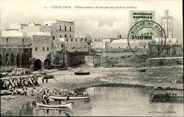 MAROC - Affranchissement Plaisant Sur Carte Postale - L 29428 - Morocco Agencies / Tangier (...-1958)