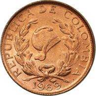 Monnaie, Colombie, Centavo, 1965, TTB, Copper Clad Steel, KM:205a - Colombie