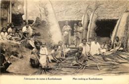 Inde - Mat-making At Kumbakonam - Fabrication De Nattes à Kumbakonam - India