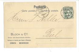 22064 - Mendrisio Bloch Et Cie Fabrique De Lingeries Pour Dames Et Messieurs 1904 - TI Tessin