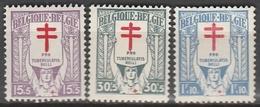 Belgie    .    OBP      .      234/236     .      **       .   Postfris    .  / .  Neuf Sans  Charniere - Belgique