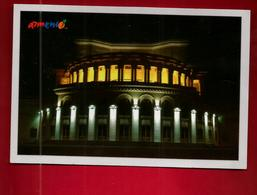 CP Armenie Opera House Erevan ? - Vue De Nuit - Armenia