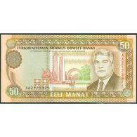 TWN - TURKMENISTAN 5a - 50 Manat 1993 Prefix AA UNC - Turkmenistan