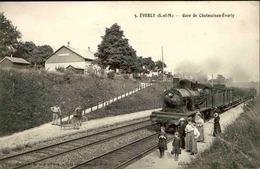 FRANCE - Carte Postale - Everly - Gare De Chalmaison - Everly - L 29433 - Autres Communes