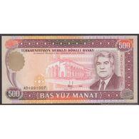 TWN - TURKMENISTAN 7b - 500 Manat 1995 Prefix AD UNC - Turkmenistan