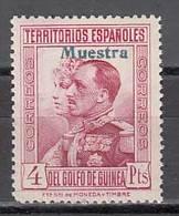 Guinea Sueltos 1931 Edifil 214M ** Mnh  Sobrecarga Muestra - Guinea Española