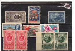 URSS LOT DE TIMBRES NEUFS - Stamps