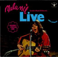 * LP *  MELANIE - LIVE (At Margieś Birthday Party) - Country & Folk