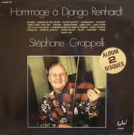 * 2LP *  STÉPHANE GRAPPELLI - HOMMAGE À DJANGO REINHARDT (France 1972 EX!!) - Jazz