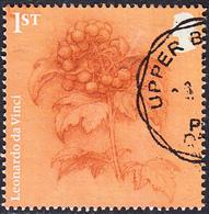 2019   Leonardo Da Vinci Sketchwork - Guelder Rose  1st  SG4171 - 1952-.... (Elizabeth II)