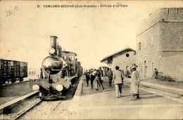 ALGÉRIE - Carte Postale - Colomb Béchard - Arrivée D'un Train - L 29441 - Bechar (Colomb Béchar)