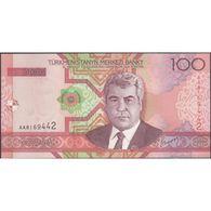 TWN - TURKMENISTAN 18 - 100 Manat 2005 Prefix AA UNC - Turkmenistan