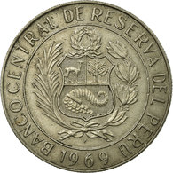 Monnaie, Pérou, 5 Soles, 1969, Paris, TTB, Copper-nickel, KM:252 - Pérou