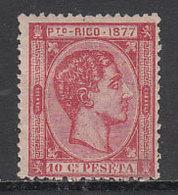 Puerto Rico Sueltos 1877 Edifil 14 * Mh - Puerto Rico